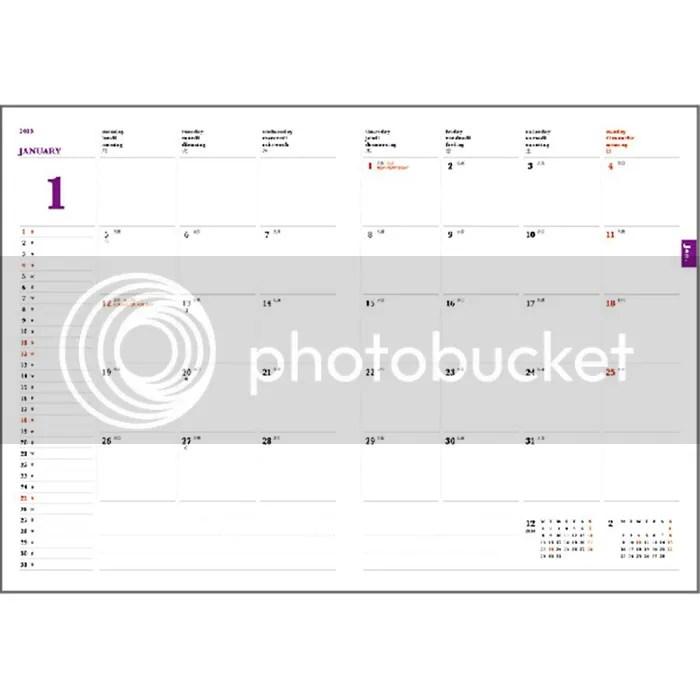 2014.9-2015 Marvel Spiderman Schedule Book Weekly Planner