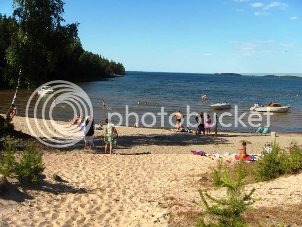 Torsö beach