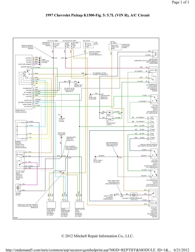 Hvac Wiring Diagram Colors