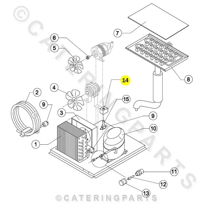 BREMA 23091 230v HF2 CASTEL HOT GAS SOLENOID VALVE COIL