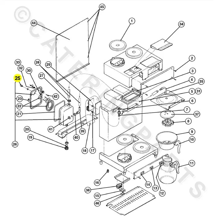 HOBART 28151151 CUT-OUT HIGH LIMIT THERMOSTAT RAPIDE MK7