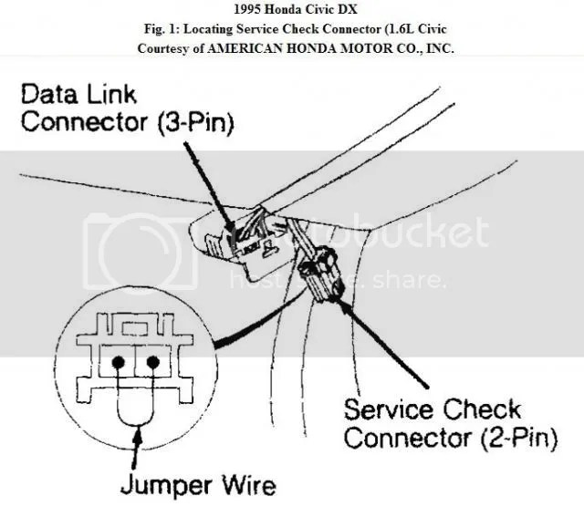 obd0 to obd1 vtec wiring diagram subwoofer with capacitor the importance of distributor timing ek9 org jdm honda civic locate 2 pin service connector and bridge pins a piece wire