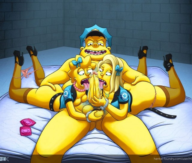 Hentai Foundri New Recruits The Simpsons