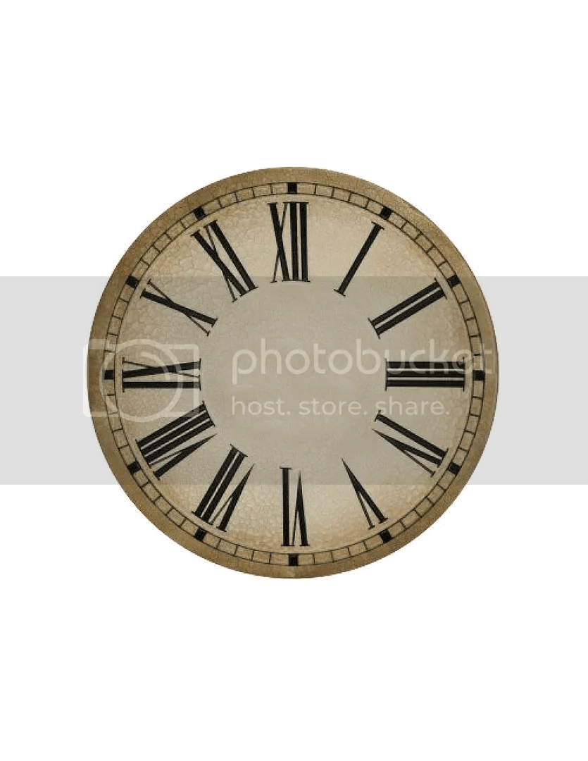 New Years free clock face printables (cd size and plate) New Years Eve Clock Clip Art
