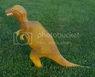 No more living in the dino age!