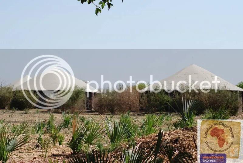 Huts at Galeagu