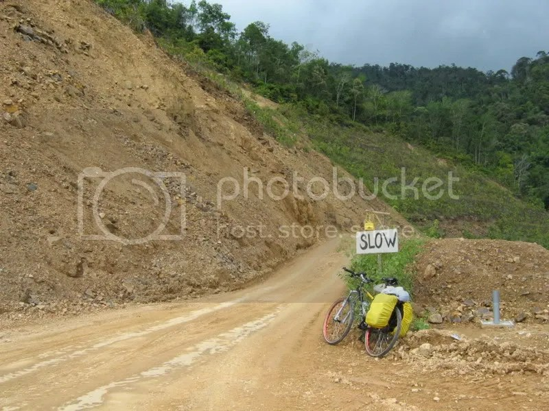 ...and when its hit by landslides. I hate redundant reminders