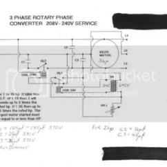 Rotary Phase Converter Wiring Diagram 2002 Dodge Durango Designs And Plans Jamie