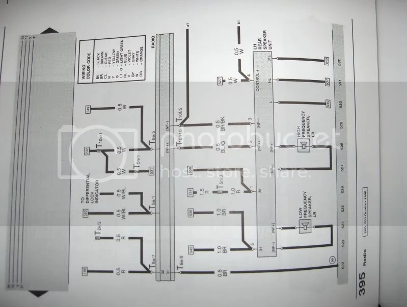 89-91 200 Stereo Wiring Harness Diagram? Anyone Got One