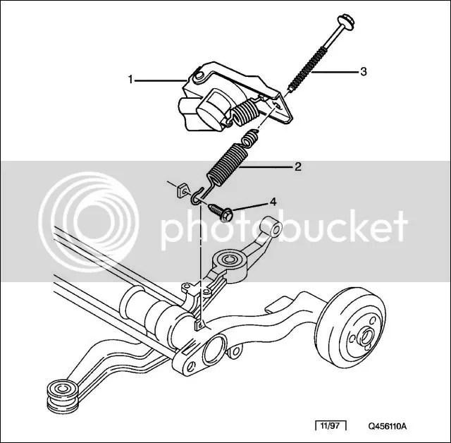 Ford escort van load sensor valve