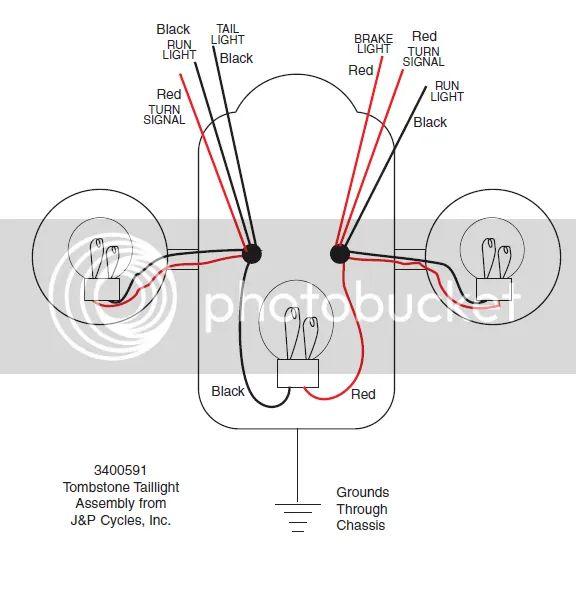 motorcycle led wiring diagram