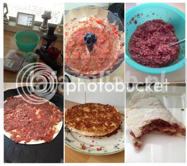 Lahmacun/turkse pizza recept