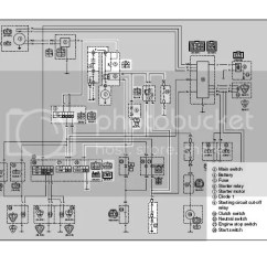 05 Yfz 450 Wiring Diagram 220v Plug 3 Wire Cleaning Up The Bars Page Yamaha Yfz450 Forum Start System