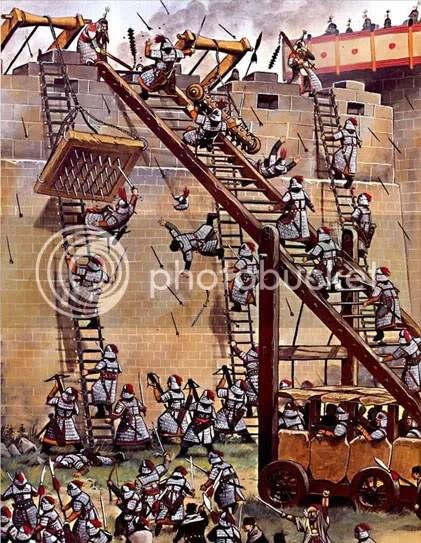 Siege Ladder : siege, ladder, Ladders, Effective?, Total, Forums