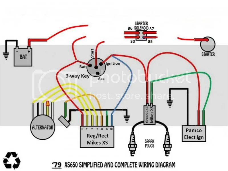 yamaha xs650 bobber wiring diagram 3 phase split ac 1979 great installation of 79 trusted online rh 40 perueckenstudio24 de 1975