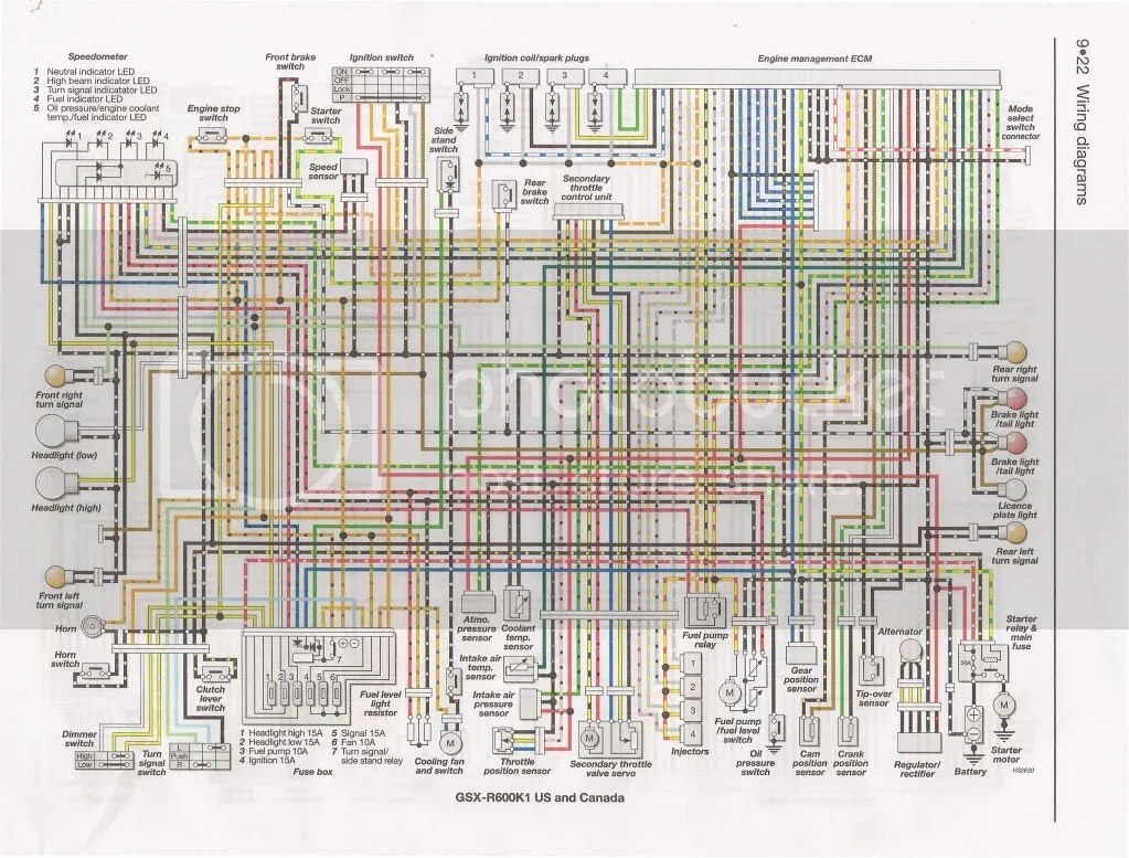 hight resolution of 2001 suzuki wiring diagram