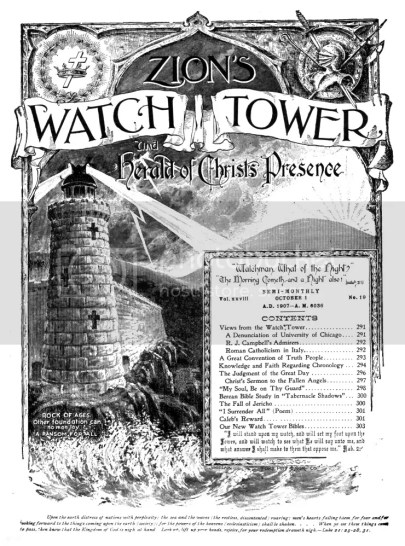 Jehovah's Witnesses, Russell, and the Occult Connection