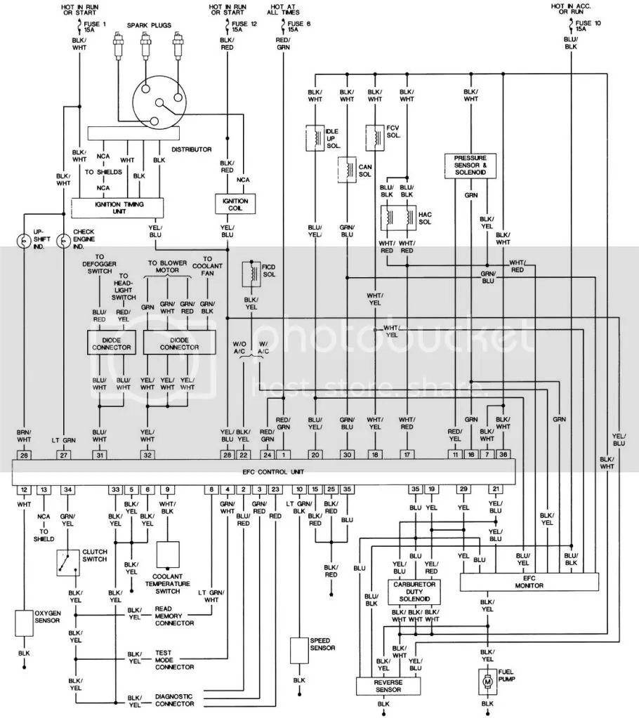 1990 subaru justy wiring diagram