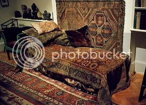 Freud's Divan used in Psychonalysis