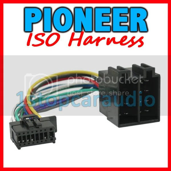 pioneer to iso wiring harness  deh 4350ub deh 6350sd on