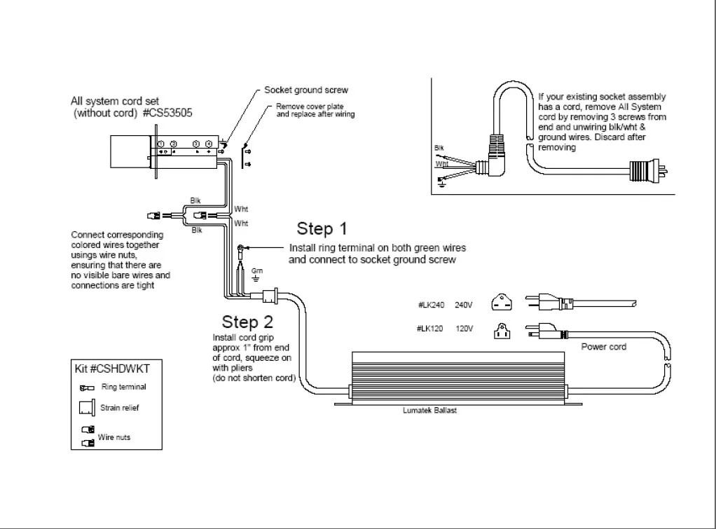 tridonic t8 ballast wiring diagram 2004 honda accord engine digital great installation of how on earth do i wire up my lumatek 600w rh thctalk com sign