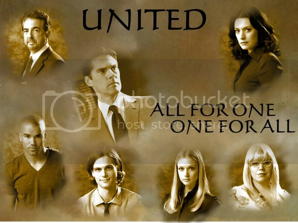 Criminal Minds,All for One & One for All,United,Lanna,Wallpaper,Wally - 1024x768,Criminal Minds Creations
