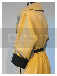 Black and Tan Reversible Trench