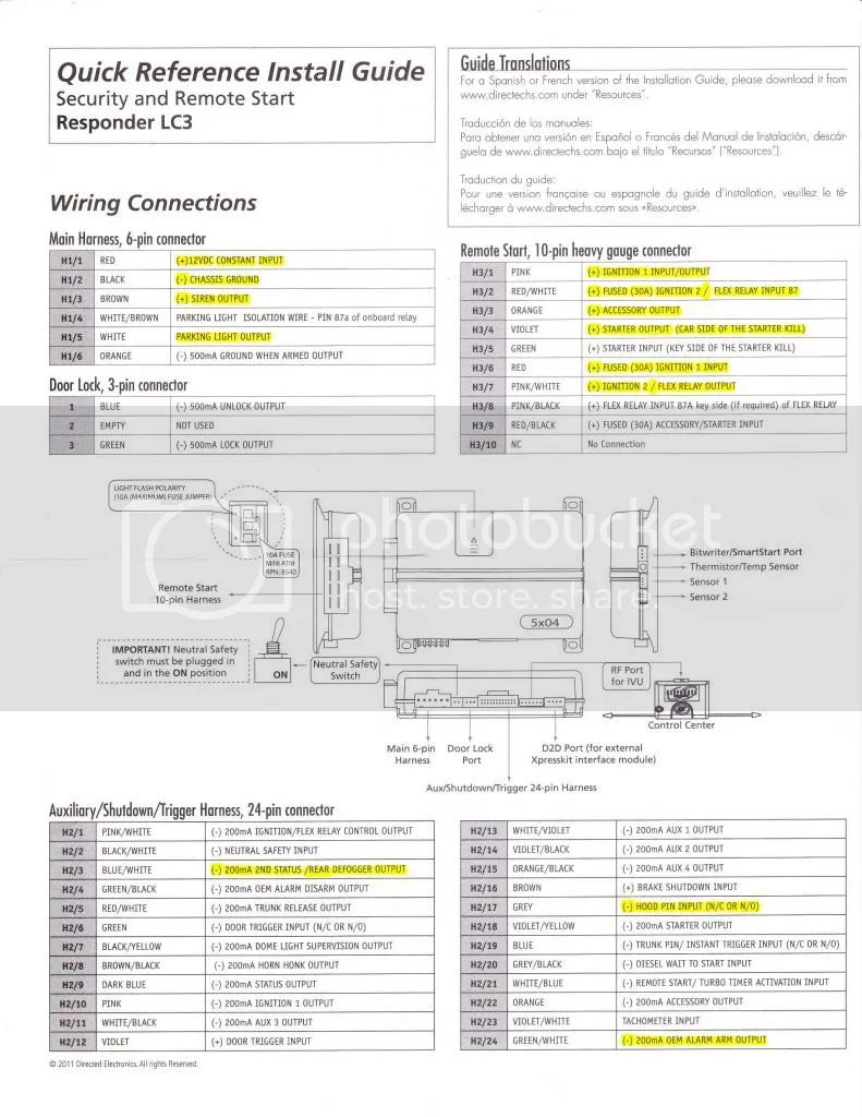 Viper 5704 Install Manual Auto Electrical Wiring Diagram Kelvinator Range