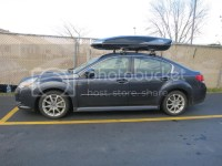 Roof racks/cross bars? - Subaru Legacy Forums