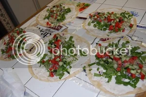 Vegetable Vertabrae Wraps