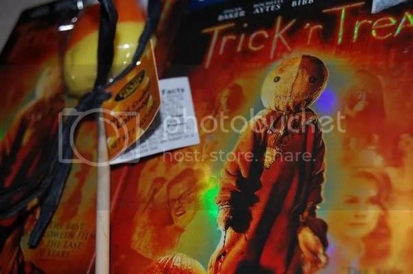 Trick R Treat Blu-Ray + Candy Corn Lollipop from the BF