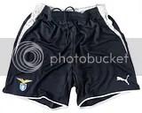 SS Lazio Puma 09/10 Home, Away and Goalkeeper Kits