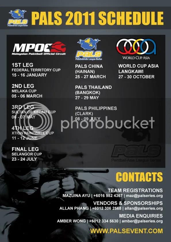 PALS 2011 Schedule