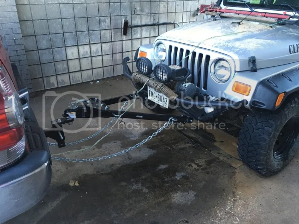 medium resolution of if i had been able to tow my jeep back after the first time it overheated perhaps less damage would have occurred