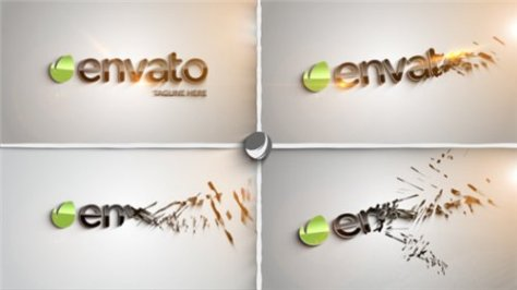 Clean Part Logo Intro - After Effects Project (Videohive)