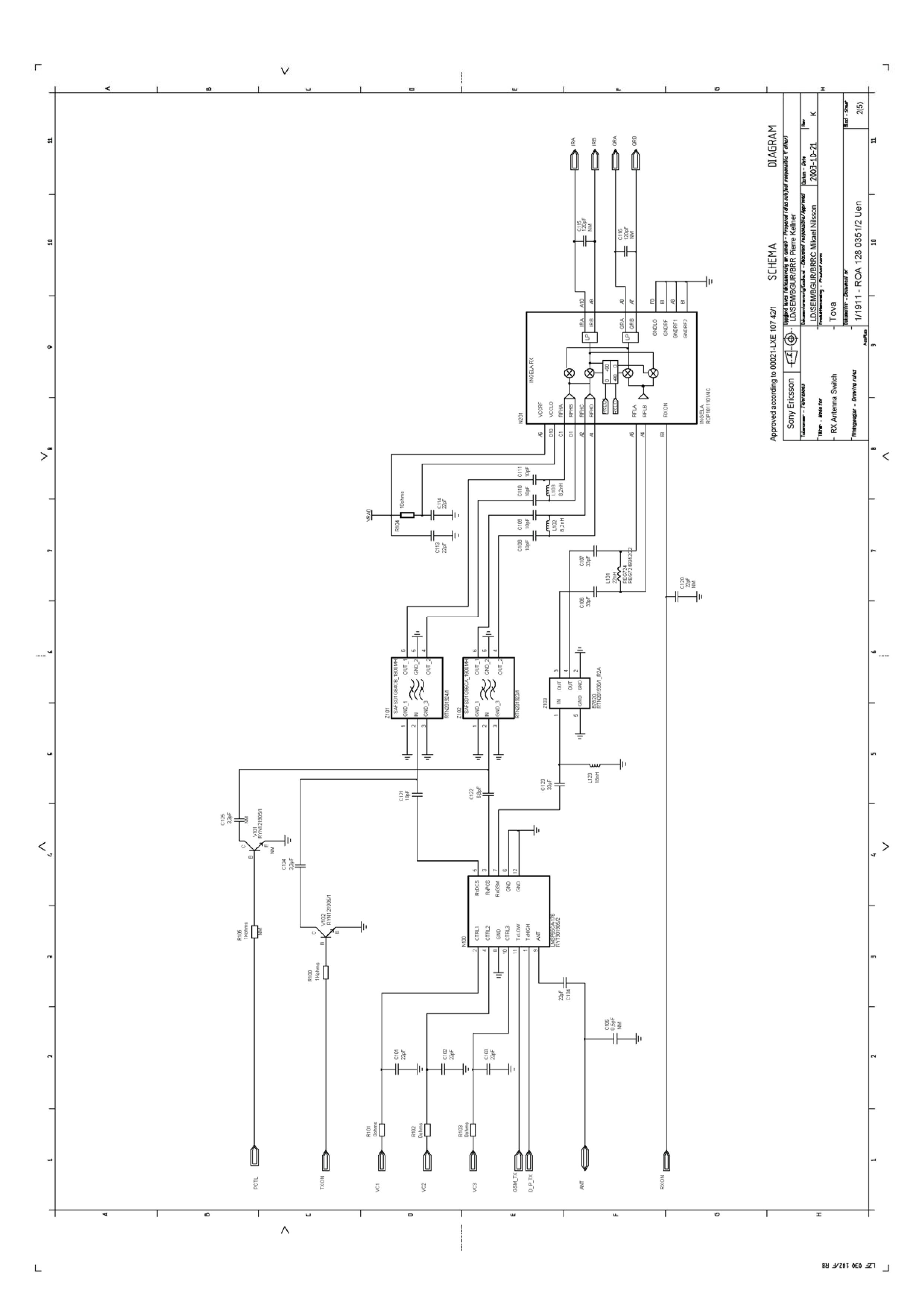 Sony-Eriсsson Datasheet. Схемы и сервис-мануалы мобильных