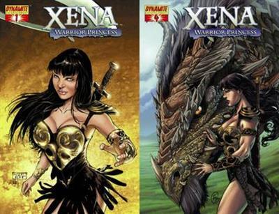 Xena - Warrior Princess #1-4 (2006) Complete