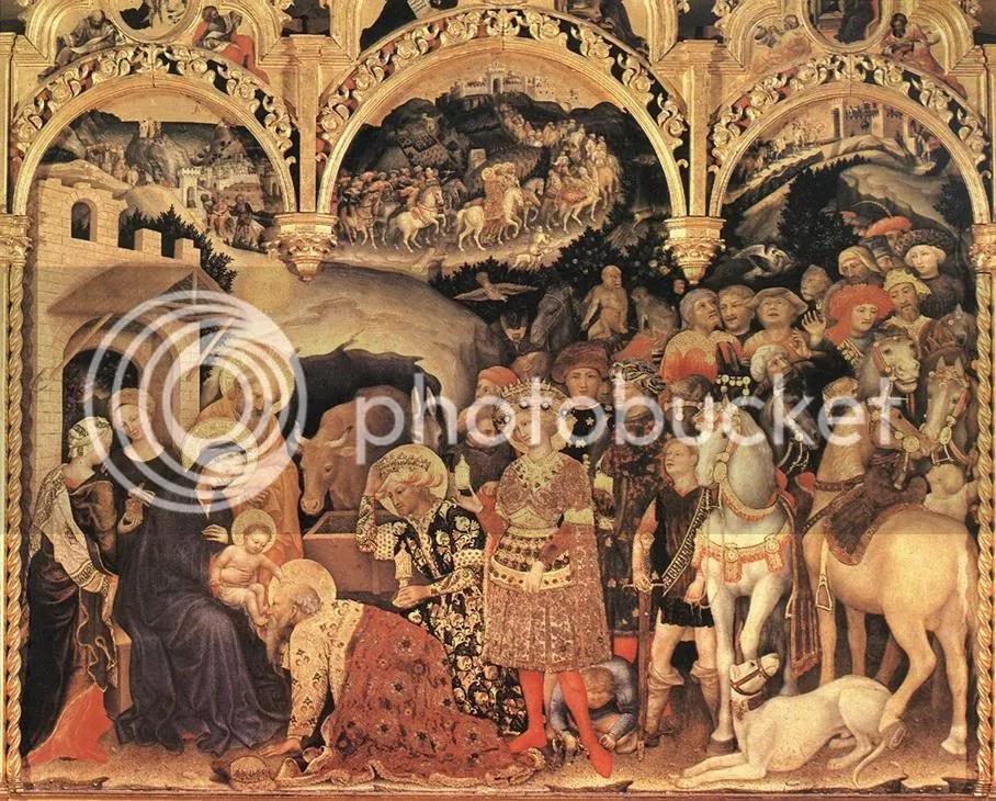 Adoration, Gentile da Fabriano