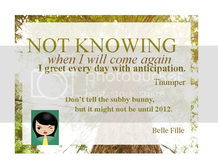 Thumper's card
