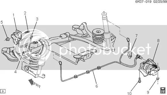 How should I adjust the rear height sensor? '00-'05 DHS