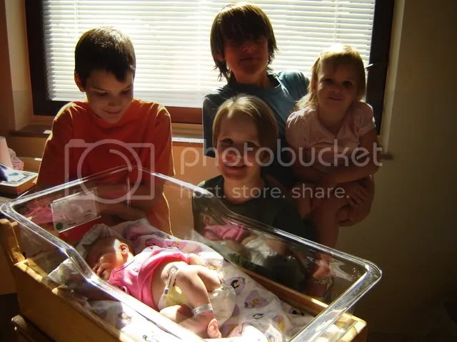 All five of my dear children