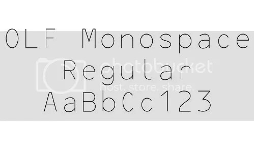 News Announcements > New Single Line Font completed