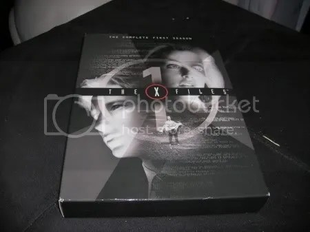 This is the X-Files Season 1 box set.  This was the season that started it all.