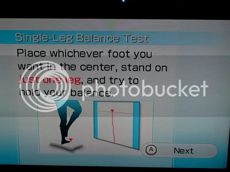 Single Leg Balance Test
