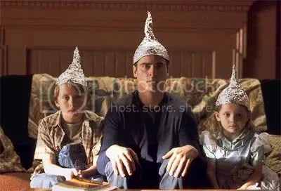 Image result for signs tin foil hat gif