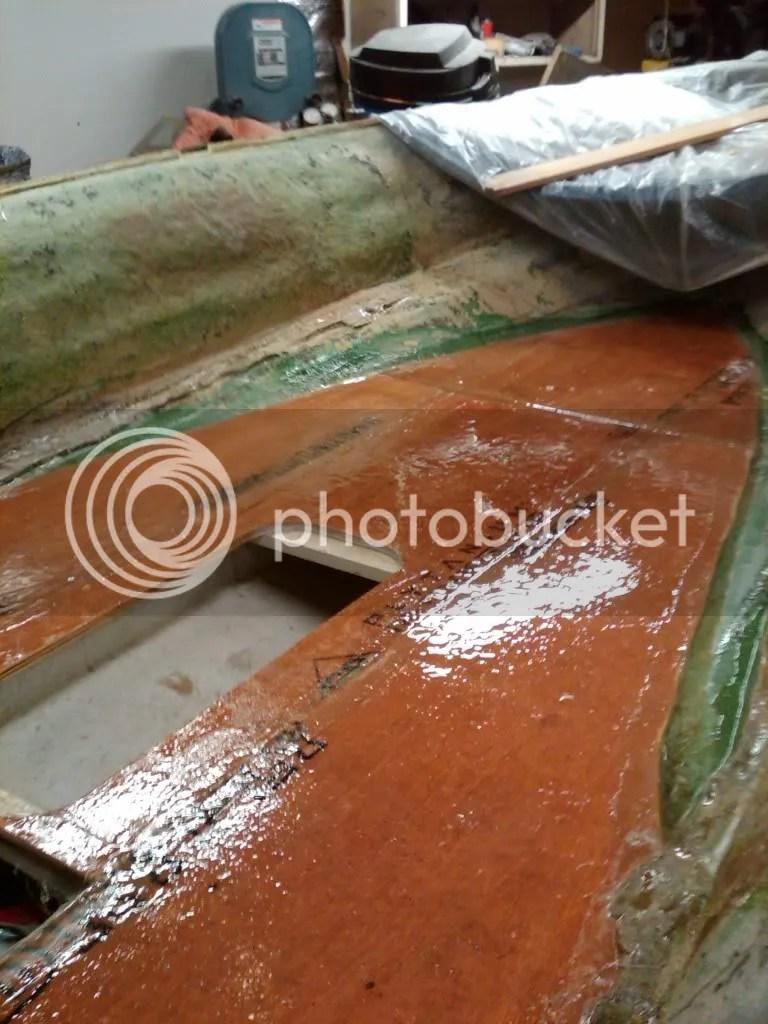 Boat Floor Replacement