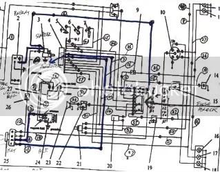 KAMA TS254C won't start & battery's