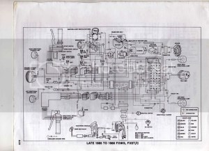 1985 wide glide wiring diagram | Harley Davidson Forums