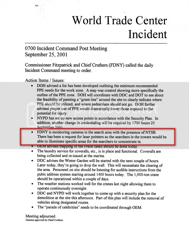 FDNY Incident Action Plan Sept. 25