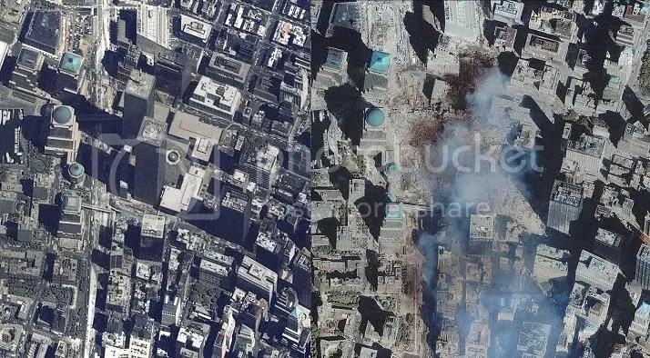 World Trade Center before and after